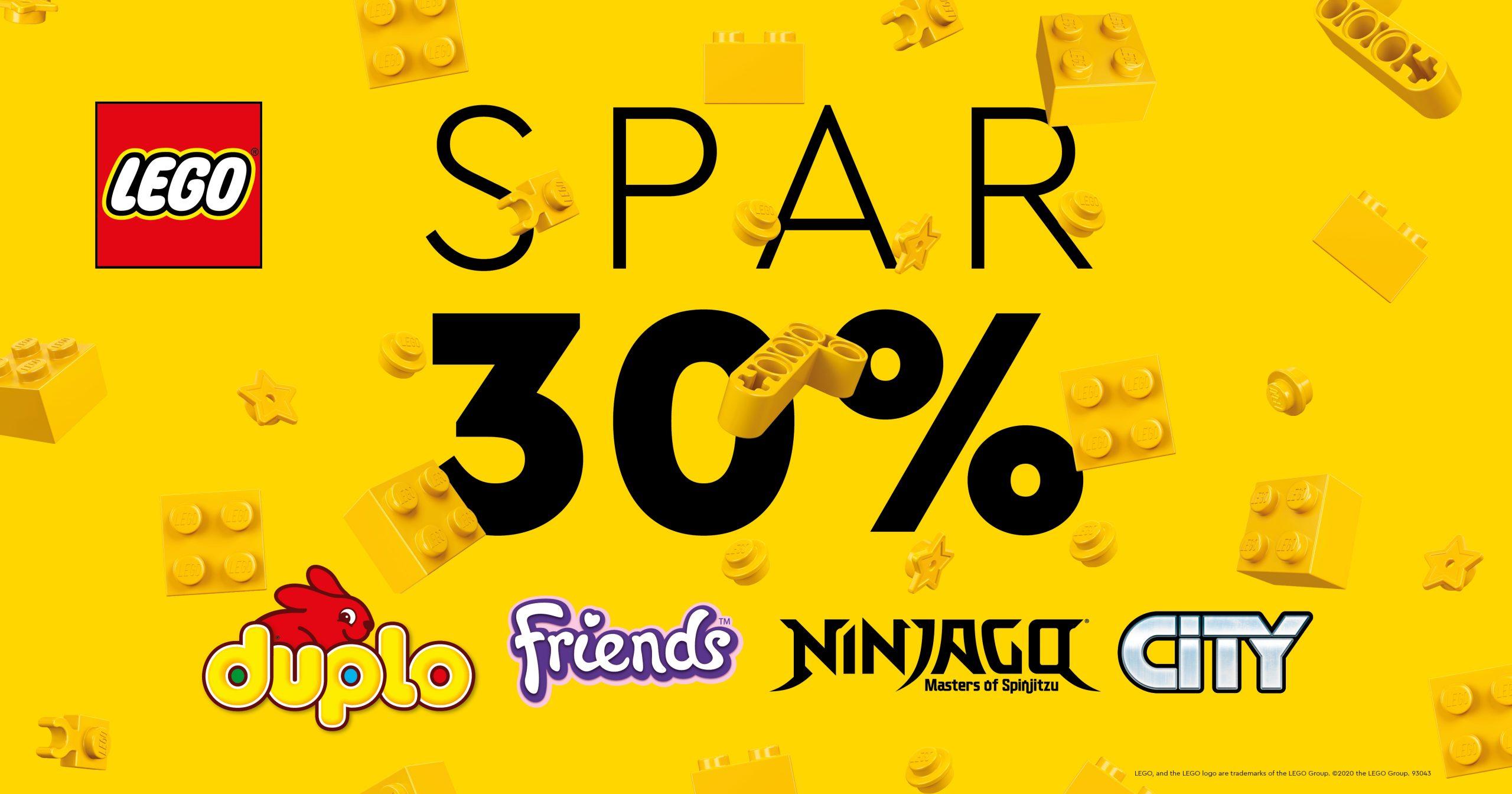 Lego 30%